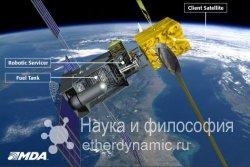 Космическая заправочная станция уже в 2015 году
