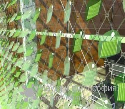 легкие солнечные батареи в виде листьев плюща